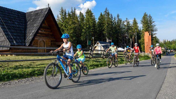 Rowerem przez Tatry! Wypożyczalnie w Zakopanem